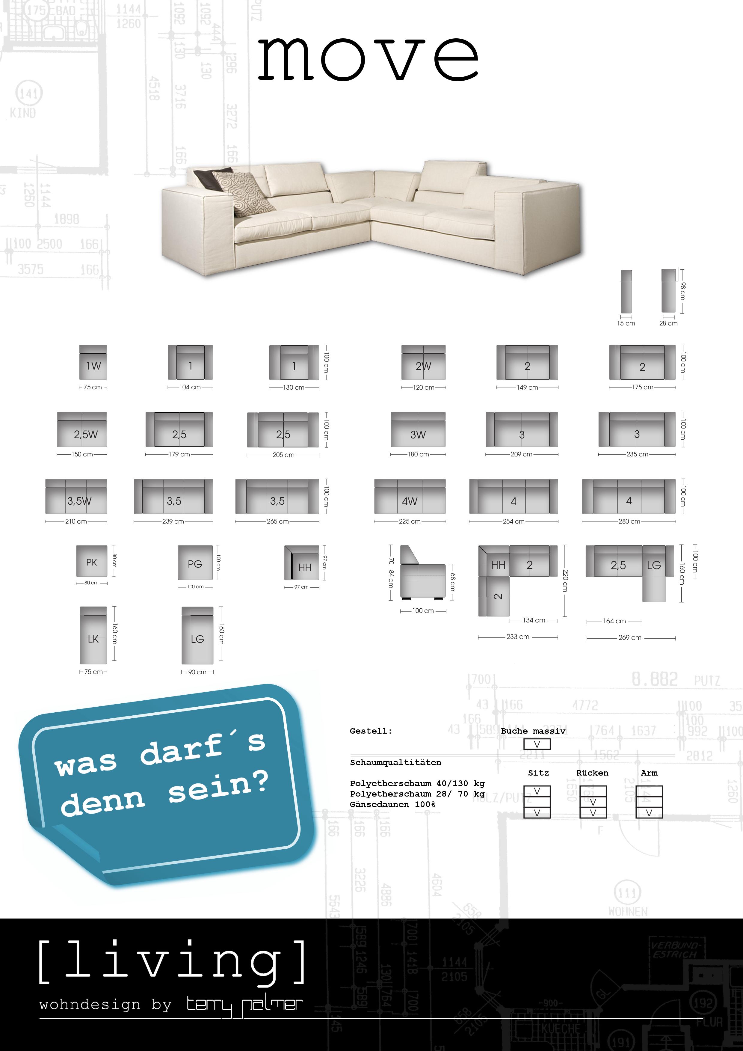 Move elementsofa ihr h ndler in k ln bonn und d sseldorf for Wohndesign by terry palmer