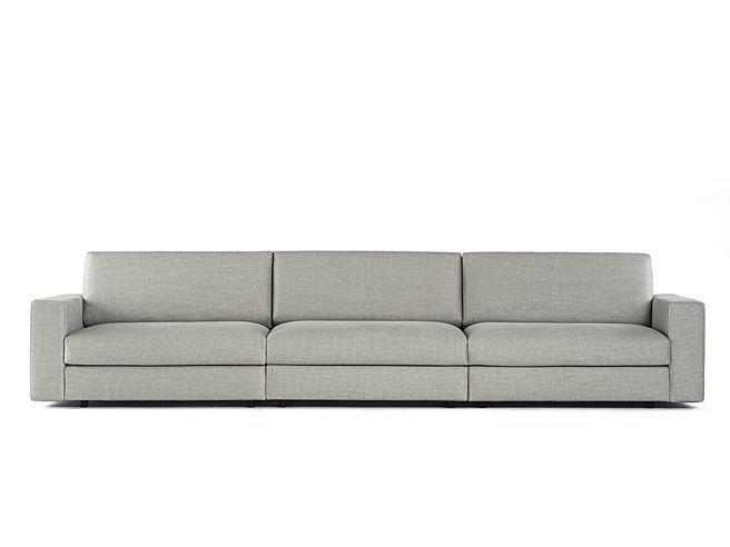 2 und 3 sitzer sofas melchior 3 sitzer sofa aus samt grau. Black Bedroom Furniture Sets. Home Design Ideas